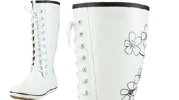 Botas de Agua Viking Retro Flower
