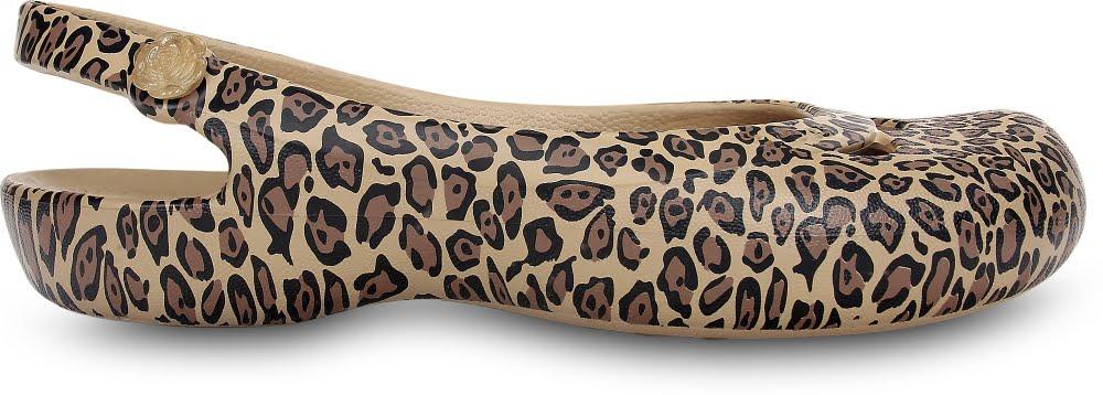 Jayna Leopard Print Flat W