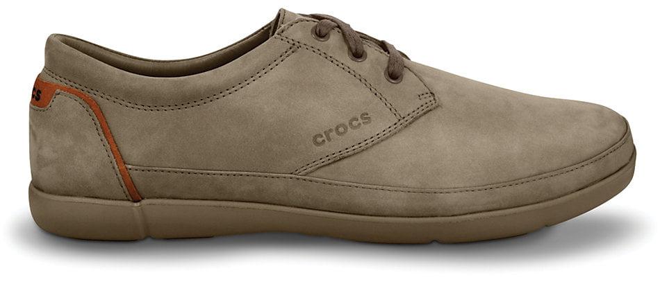 zapato de ante para hombres Crocs