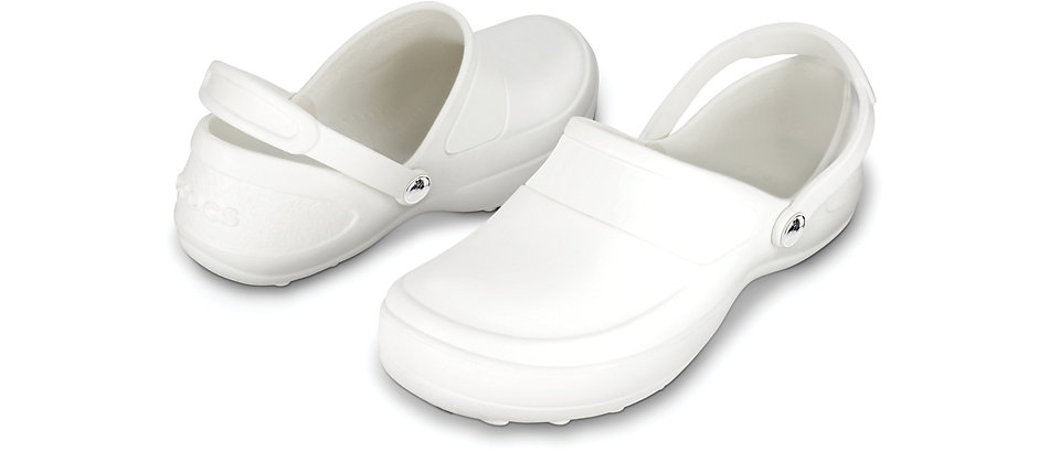 Zueco Trabajo blanco Crocs Mercy Work