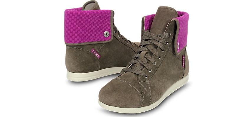Sneaker Crocs Mujer LoPro-Suede-Hi-top-Sneaker